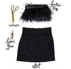 falda de plumas de fiesta Skirts, Diy Ideas, Women, Minecraft, Desserts, Animals, Fashion, Vestidos, Feather Skirt