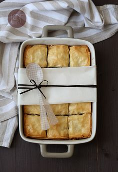 DIY - Chocolate Baklava - Recipe