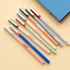 Retro Square Pen I Mochi Things.