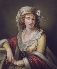 1790s Robert Fagan - Anna Maria Aloisna Rosa Ferri, the artist's wife
