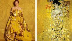 "Julianne Moore recreating ""Famous Works of Art"" - Imgur"