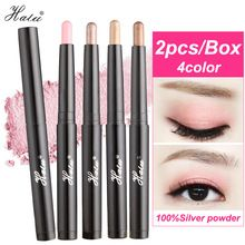 SuperDeals  61% off             http://s.click.aliexpress.com/e/imUVVzZ HaLu 2PCS Women Ladies Makeup Brand eyeshadow palette Waterproof Long-lasting Easy to Wear Shimmer Natural Eye shadow pencil