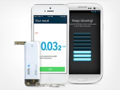 The BACtrack Vio: A Pint-Sized Smartphone Breathalyzer - Your Life Is Never Something To Gamble - Stay Safe With This Ultra Portable Breathalyzer That Works With Your Phone