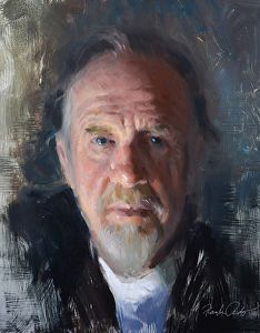 Mr. Downs Esquire by artist Frank Ordaz. #portraitpainting found on the FASO Daily Art Show - http://dailyartshow.faso.com