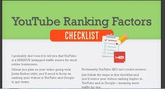 Ultimate YouTube Video Ranking Checklist