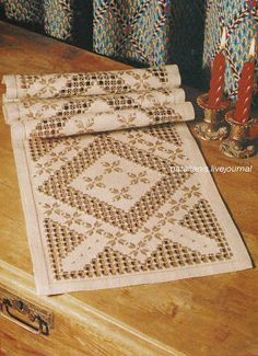 - Anyone who knits, I give the old ideas for new works Crochet Doily Patterns, Bead Loom Patterns, Crochet Doilies, Hardanger Embroidery, Paper Embroidery, Cat Cross Stitches, Drawn Thread, Hello Kitty Wallpaper, Point Lace