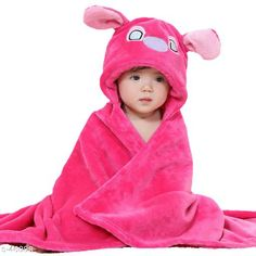 Bathrobes Stylish Baby Bathrobe Material: Organic Cotton Dimension: 35in Ideal For: Baby Boys & Baby Girls Ideal Age: 1 Month to 12 Month Type: Bath Gown Fabric Care: Wash with Similar Colors Use Detergent for Colors Description: It Has 1 Pice of Bathrobe Country of Origin: India Sizes Available: Free Size   Catalog Rating: ★4.1 (2744)  Catalog Name: Baby Bathrobes CatalogID_4838 C63-SC1324 Code: 503-46088-417