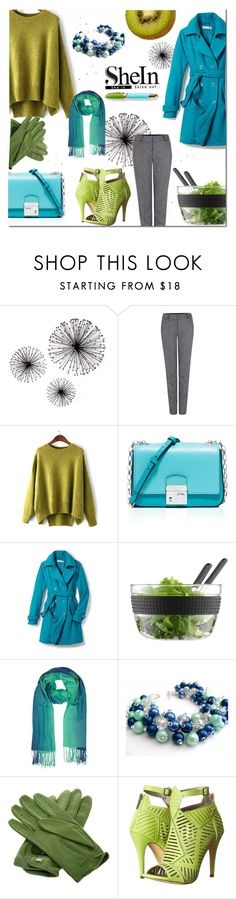 """""""green and blue winter"""" by huda-alalawi ❤ liked on Polyvore featuring Pink Tartan, Michael Kors, New York & Company, Bodum, Mila Schön, Michael Antonio, Kate Spade, women's clothing, women's fashion and women"""