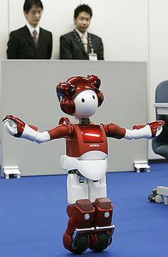 Hitachi's EMIEW2 humanoid