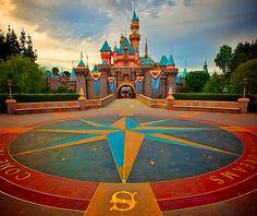 Sleeping Beauty's Castle: Disneyland