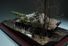 Dioramas and Vignettes: The Hunteress. Spring 1945, photo #14