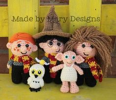 Ravelry: Mini Wizard Friends Collection pattern by Mary Smith
