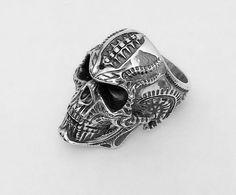 Ring Skull Biomechanics HR Giger  STL 3d model for 3d printing | 3D Print Model