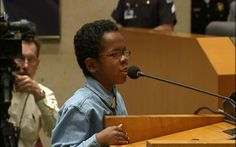 "NewsOne  When 11-year-old David Williams address the Dallas City Council on school violence, he noticed members were not listening to constituents' questions. He followed up with THIS QUESTION: ""Do you feel it is acceptable for city council members to be up and walking around while constituents are addressing them?"" Adults were very surprised that the young man had the gall to check public officials on their rude behavior…"