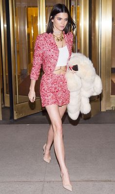 blogmixes: Celebrities Can't Stop Wearing This 2-Piece Outfit... #kendalljenneroutfits