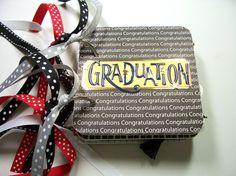 Graduation Mini Album Graduation Scrapbook by HampshireRose