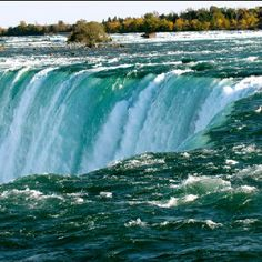 Horseshoe Falls, also known as the Canadian Falls, and also a part of Niagara Falls.