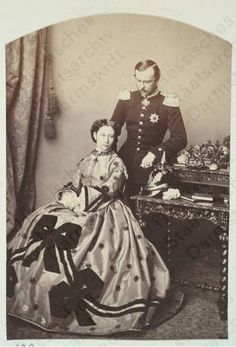 Princess Alice of the United Kingdom and Louis IV, Grand Duke of Hesse.