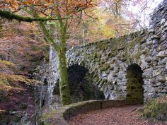Bridge at Hermitage  Photo taken in Tay Forest Park, Dunkeld, Perth and Kinross PH8, UK