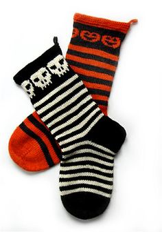 Ravelry: Halloween Stockings! pattern by Michael Brian McNorrill