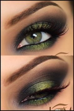 Perfect ideas for green eyes - Make-up ideas - # ideas . - Perfect ideas for green eyes – Make-up ideas – # ideas You are - Makeup Goals, Makeup Inspo, Makeup Art, Makeup Inspiration, Makeup Tips, Beauty Makeup, Makeup Hacks, Makeup Ideas, Dead Makeup