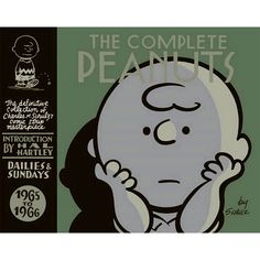 The Complete Peanuts 1965 to 1966 - cover design by Seth, adapting artwork by charles m schulz. This design was initially critizised for being too close to Seth's own work, but now seems to have been embraced as beautiful retro-design. Charlie Brown Peanuts, Peanuts Gang, Snoopy, Charles M. Schulz, Hal Hartley, Tapas, Garfield, Stormy Night, Peppermint Patties