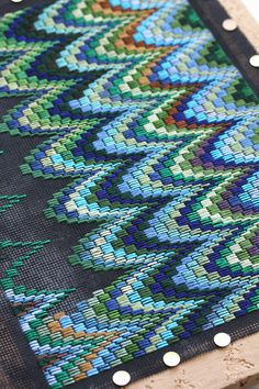 Bargello clutch :: test | Flickr - Photo Sharing!