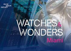 El fin de semana de lujo de cuatro días contará con los más nuevos relojes y joyas de 20 Leading Maisons, una colección de 100 raros vehículos vintage y deportivos / exóticos, junto con The Celebrated Miami Yacht Show. #Watches #MiamiDesignDistrict #Miami #Vintage #Sports #Exotic