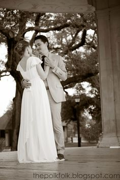 Our Elopement First Dance Newman Bandstand In Audubon Park New Orleans Louisiana Thepolkfolk