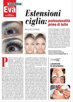 Xtreme Lashes was featured in Eva! #xtremelashes #eyelashextensions #Eva #xtremelashesitaly