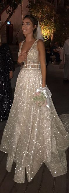 Deep V-Neck Prom Dresses, Sparkle Backless Vintage Prom Dresses Prom Dress V-Neck Prom Dresses Backless Prom Dresses Prom Dresses V-neck Prom Dresses Vintage Prom Dresses 2019
