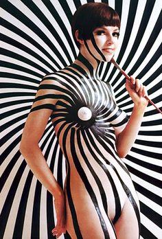 """Brush On Fashions, Through the Eyes of Mario Casilli""  Playboy 1968"