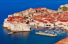 The charming city of Dubrovnik - UK Mirror article, holidaying on the Dalmatian coast.