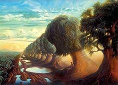 Salvador Dali . . .wonderful! - Click image to find more Art Pinterest pins