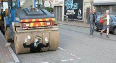 Amazing street art from banksy