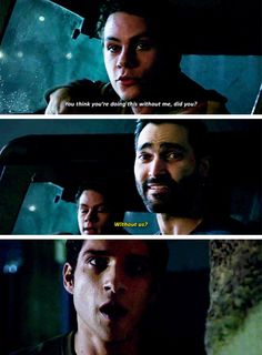 My face when I see Sterek coming back for the final season