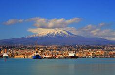 Mount Etna by Caroline