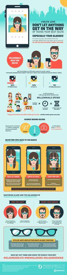 #glasses #selfie #cool - Do you fancy an infographic? There are a lot of them online, but if you want your own please visit http://www.linfografico.com/prezzi/ Online girano molte infografiche, se ne vuoi realizzare una tutta tua visita http://www.linfografico.com/prezzi/
