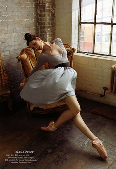 ballet style with real clothes = love <3