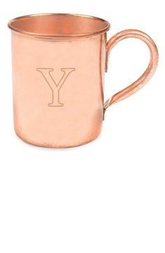Cathy's Concepts Personalized Moscow Mule Copper Mug - Brown