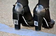 Milan Fashion Week, Chanel shoes  MELANIE GALEA/THESTREETMUSE.IT