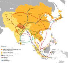 Silk Road transmission of Buddhism - Wikipedia
