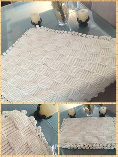 Bebek battaniyesi örgü