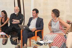 Alcuni scatti dalla tavola rotonda del 28/07 al Castello di Acaya intorno al Tavolo Love Difference di Pistoletto!