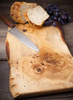 waney oak board by naturally created   notonthehighstreet.com