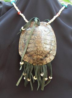 Turtle Shell Medicine Pouch