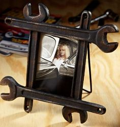 Manly Picture Frames - What a brilliantly hilarious idea!