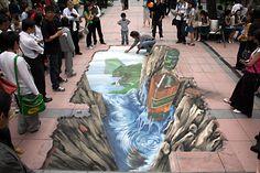 50 Absolutely stunning 3D street art - Part 1 - IlluzoneIlluzone