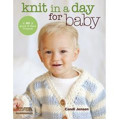 Knit in a Day for Baby is a treasury of quick and easy designs that the average knitter can complete in 2 to 12 hours. These 20 eye-catching modern designs by Candi Jensen are perfect when you need to finish items fast (for upcoming baby showers and gift-giving, or just because your free time is limited). Some projects are presented as basic patterns with 'upgrades' to enhance the design with embellishments, colorwork, or other treatments when time permits. Designs include sweaters, b...