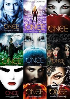 The Once promotional posters: S1, S2, S3a,  S3b, S4a, S4b, S5a, S5b, S6.  I really love the S6 poster!